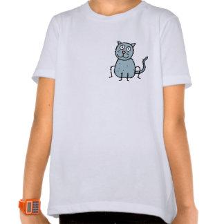 Funky Farm Cat Girls Ringer T-Shirt