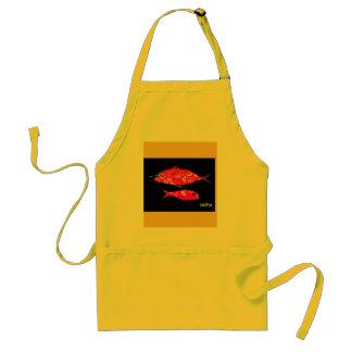 Funky fish apron