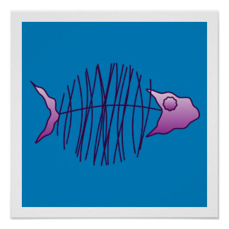 Funky Fish Poster