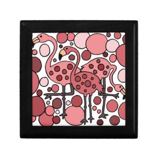 Funky Flamingo Art Gift Box