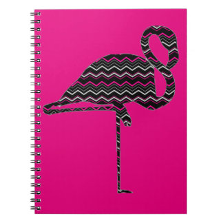 Funky flamingo notebook