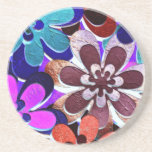 funky floral Coaster