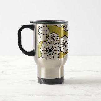 Funky Floral Travel Mug