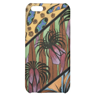 Funky Floral Tribal Print iPhone 5C Cover