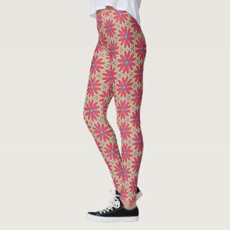 Funky flower power! leggings