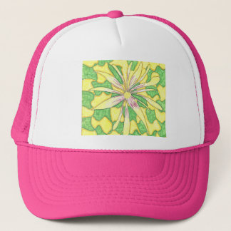 Funky Flower Trucker Hat
