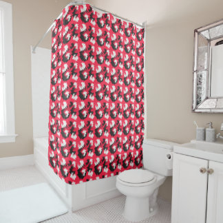 Funky Flows Shower Curtain