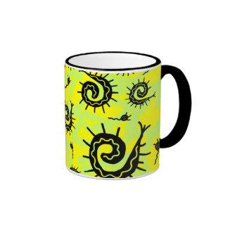 Funky Fossils Ringer Mug