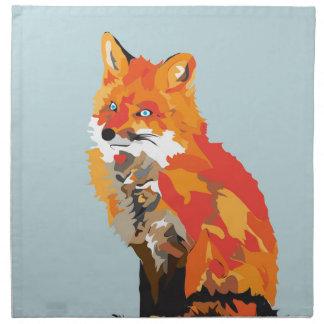 Funky Fox Napkin