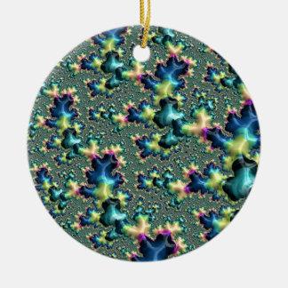 Funky Fractal Christmas Ornament