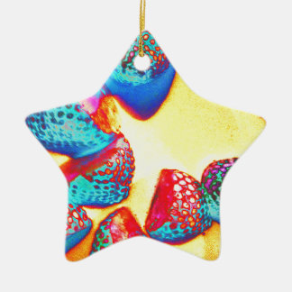 Funky Fruit design by Jane Howarth Christmas Ornament
