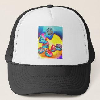 Funky Fruit design by Jane Howarth Trucker Hat