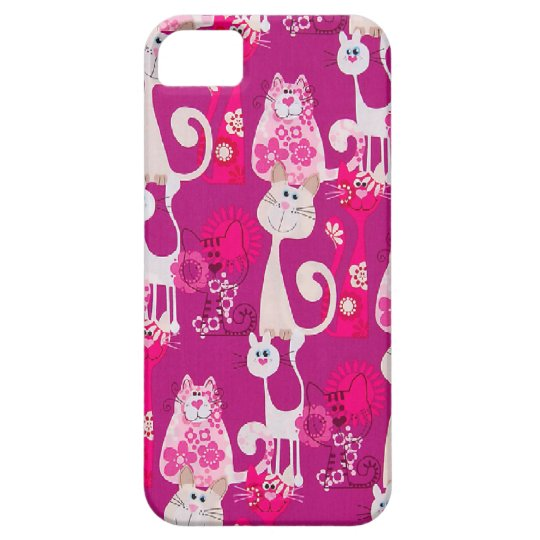 Funky Fun Cool Cats iPhone 5 Case For