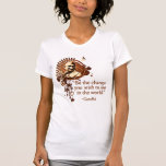 Funky Gandhi -Be the Change... T-Shirt