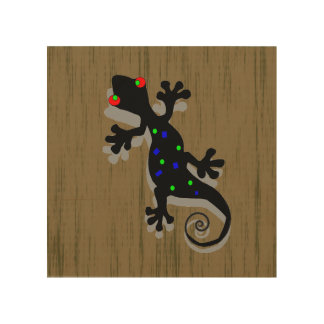 Gecko lizard art posters framed artwork for Funky wall art