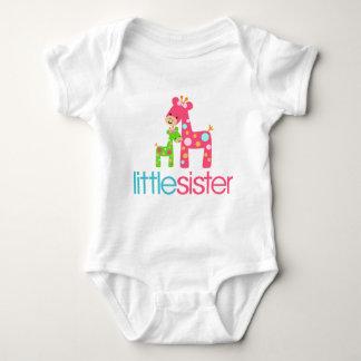 Funky Giraffe Little Sister tshirt