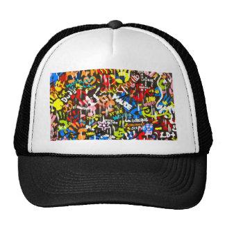 funky graffitis hat