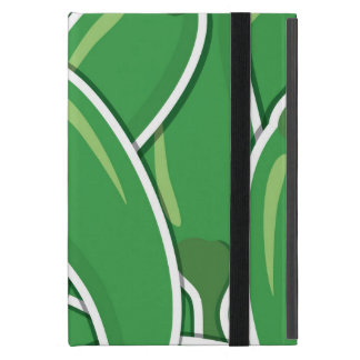 Funky green chilli peppers case for iPad mini