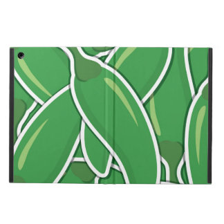 Funky green chilli peppers cover for iPad air