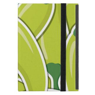 Funky green chilli peppers cover for iPad mini