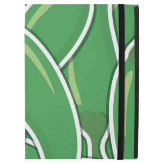 "Funky green chilli peppers iPad pro 12.9"" case"