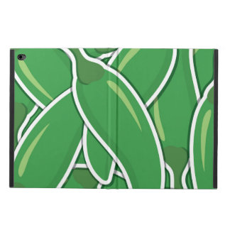 Funky green chilli peppers powis iPad air 2 case