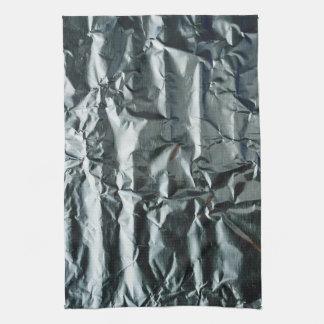 Funky Grey Crinkled Appearance 4Amie Tea Towel