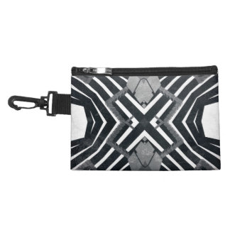Funky Grunge Abstract Accessories Bag