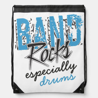 Funky Grunge Drums Funny Marching Band Rocks Backpacks