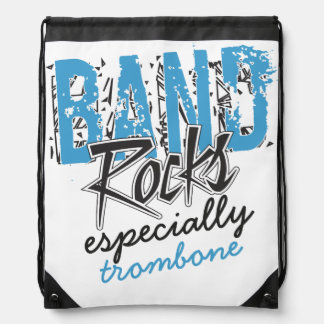 Funky Grunge Trombone Funny Marching Band Rocks Rucksack