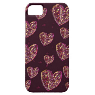 Funky Hearts, cool romantic Case For The iPhone 5