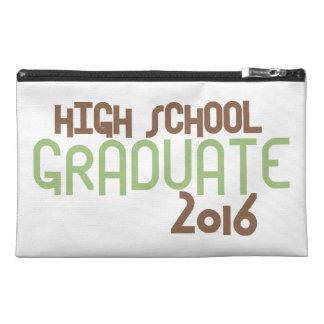 Funky High School Graduate 2016 (Green) Travel Accessories Bags