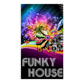 Funky House Poster