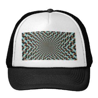 Funky Illusion Mesh Hats