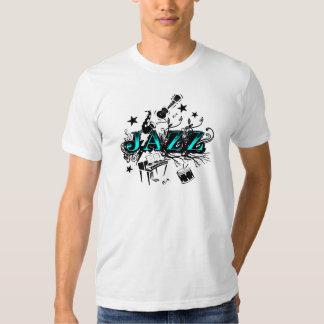Funky jazz tee shirt