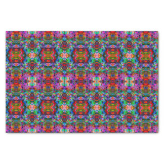 Funky Kaleidoscope Pattern Tissue Paper