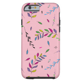 Funky Leaves iPhone Case