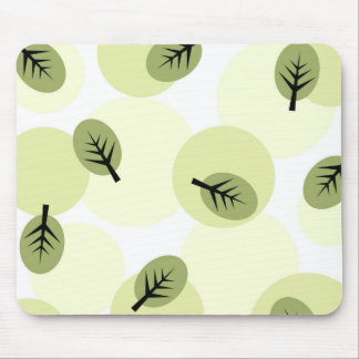 Funky leaves - Mousepad