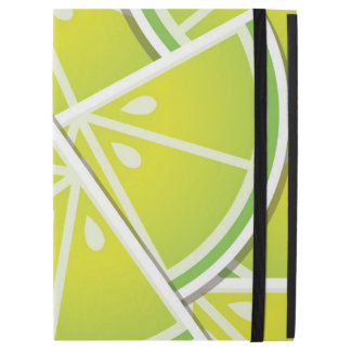 """Funky lime wedges iPad pro 12.9"""" case"""