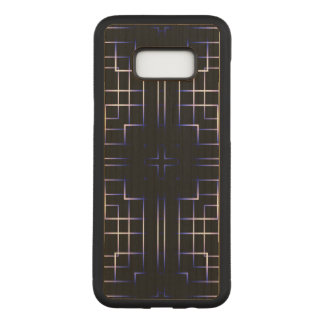 Funky Line Of Colours Carved Samsung Galaxy S8+ Case