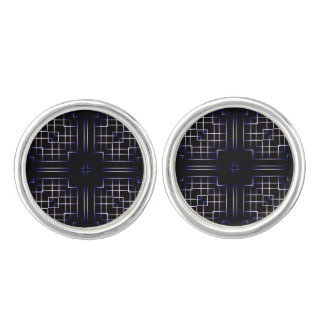 Funky Line Of Colours Cufflinks