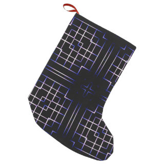 Funky Line Of Colours Small Christmas Stocking