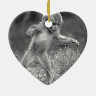 Funky Little Monkey Christmas Ornament