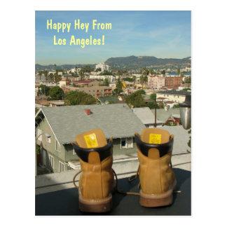 Funky Los Angeles Postcard! Postcard