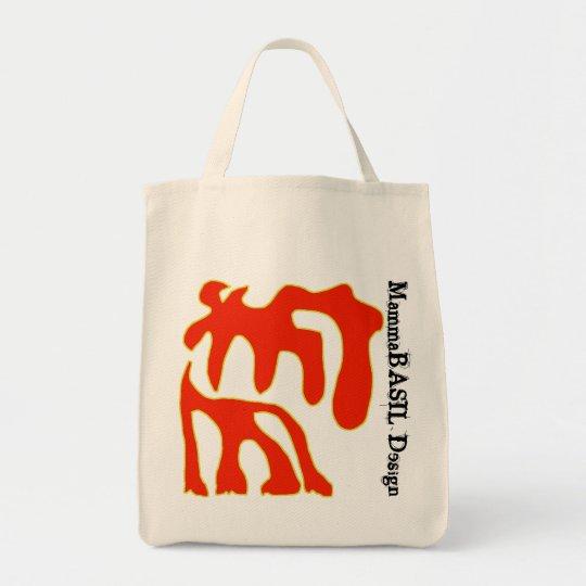 Funky MammaBASIl Design Bag! Tote Bag