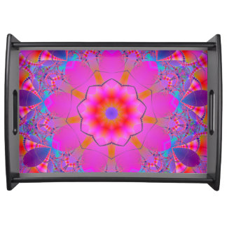 Funky Mandala Serving Tray