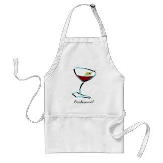 funky martini aqua apron