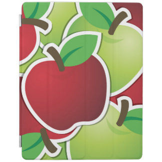 Funky mixed apples iPad cover