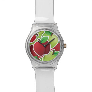Funky mixed apples watch