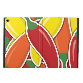Funky mixed chilli peppers powis iPad air 2 case